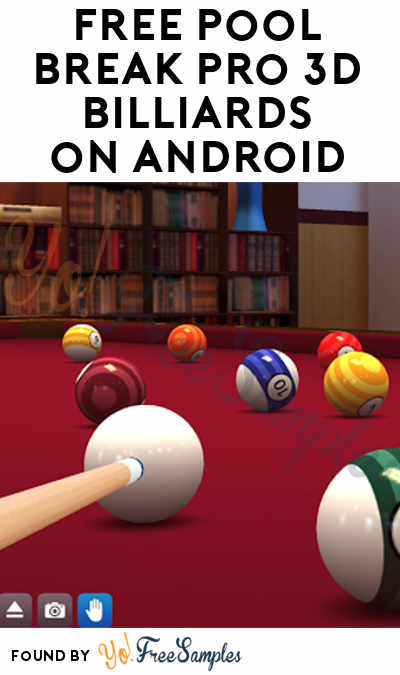 FREE Pool Break Pro 3D Billiards On Android/Google Play (Normally $0.99)