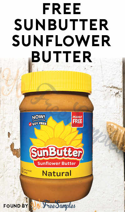 FREE SunButter Sunflower Butter (Mom Ambassador Membership Required)