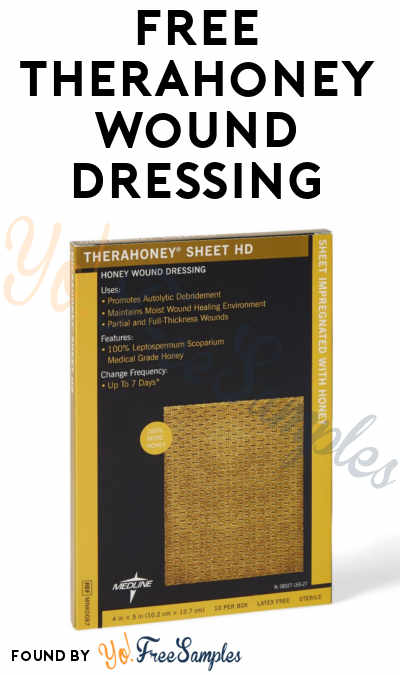 FREE TheraHoney Wound Dressing (Healthcare Professionals Only)