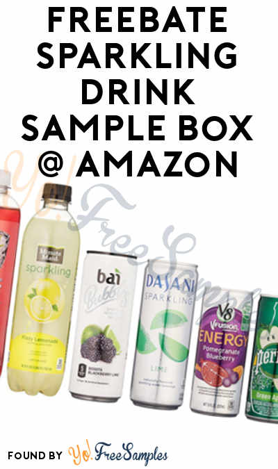 8 FREE Sparkling Drinks From Amazon Sample Box After Rebate For Amazon Prime Members