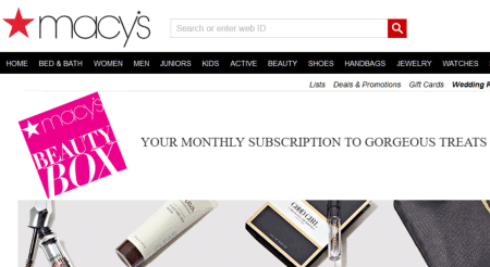 Macys Beauty Box