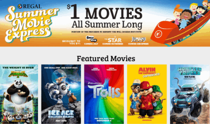 Almost Free Movies for Kids