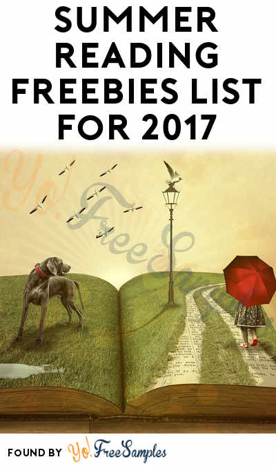 14 FREE Summer Reading Freebies For 2017