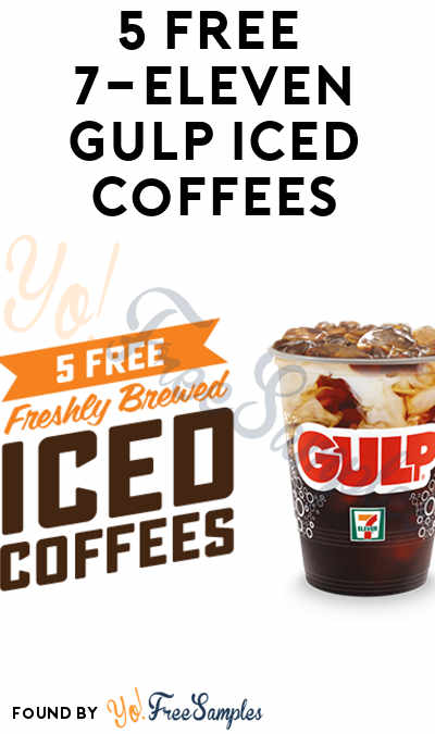 5 FREE 7-Eleven Gulp Iced Coffees In Your 7-Eleven App