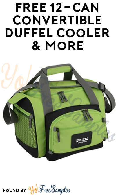 FREE 12-Can Convertible Duffel Cooler & Other Promotional Product Samples From 4Imprint (Company Name Required) [Verified Received By Mail]