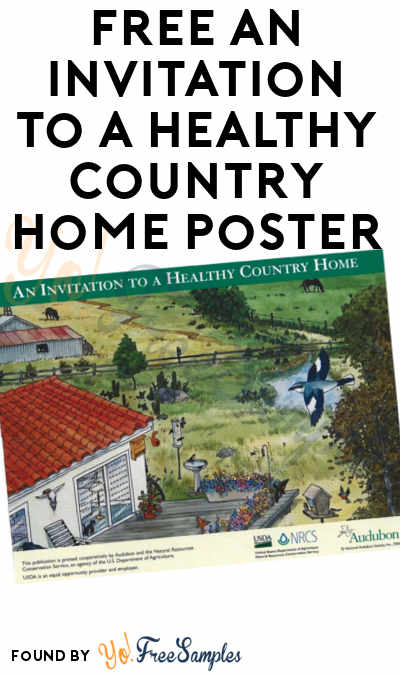FREE An Invitation to a Healthy Country Home Poster