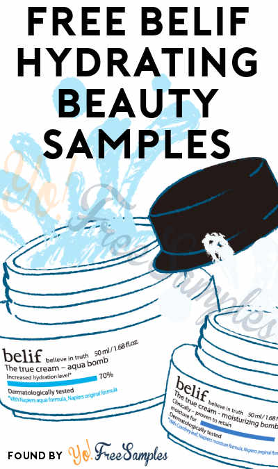 FREE Belif Hydrating Beauty Samples (Mobile Only + Solution Included For Non-Mobile) [Verified Received By Mail]