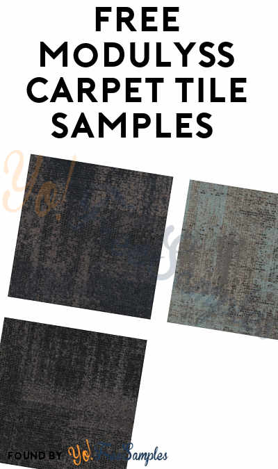 FREE Carpet Tile Samples (Company Name Required)