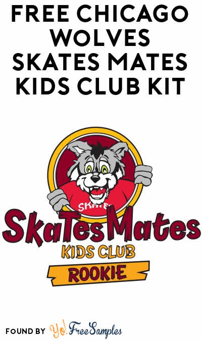 FREE Chicago Wolves Skates Mates Kids Club Kit