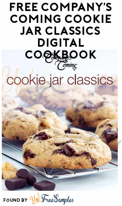 FREE Company's Coming Cookie Jar Classics Digital Cookbook