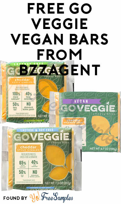 Possible FREE Go Veggie Vegan Bars From BzzAgent