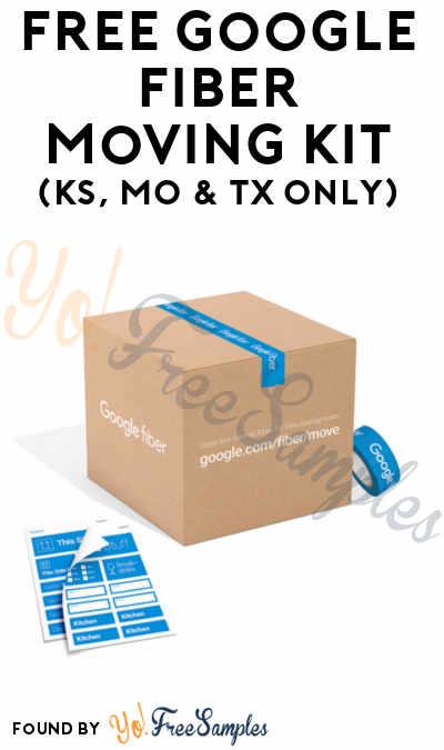 FREE Google Fiber Moving Kit (KS, MO & TX Only)