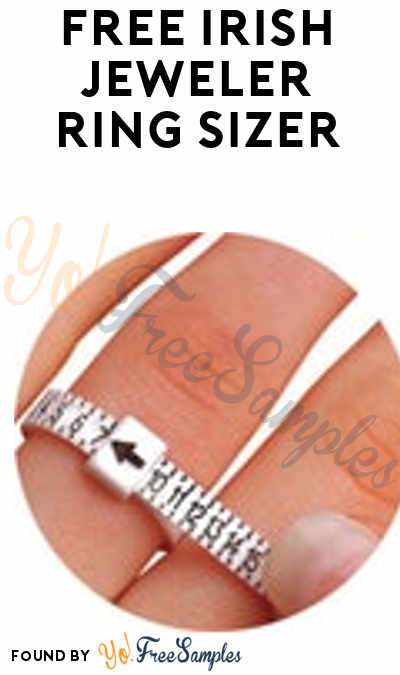 FREE Irish Jeweler Ring Sizer