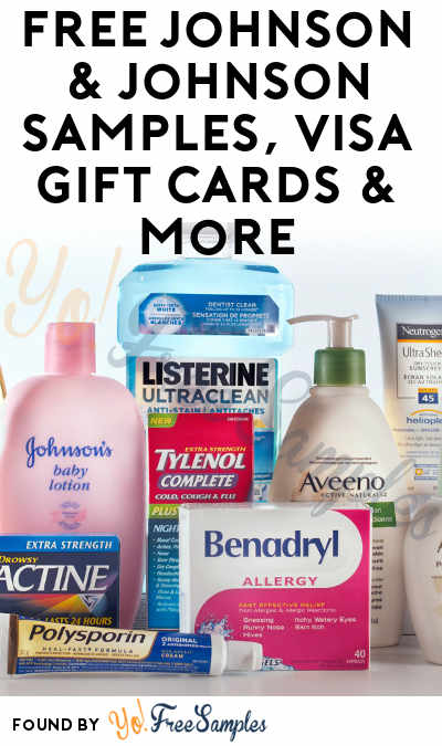 FREE Johnson & Johnson Samples, Visa Gift Cards & More For Participating In Friends & Neighbors Program
