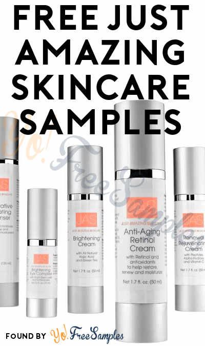 FREE Just Amazing Skincare Samples