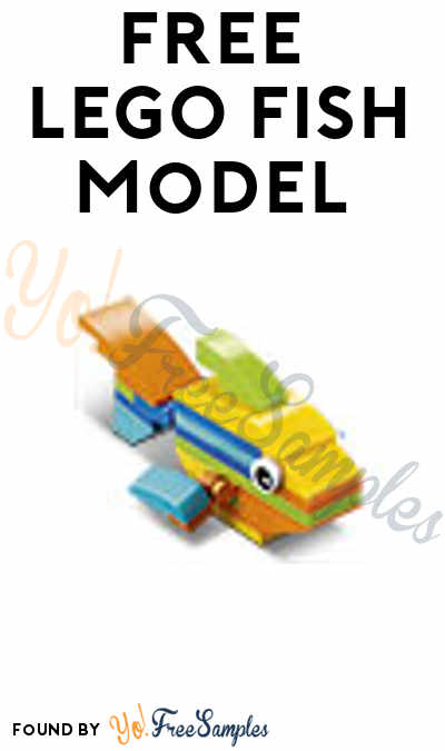 Registration Open: FREE LEGO Fish Model From Mini Model Build Event August 8th & 9th