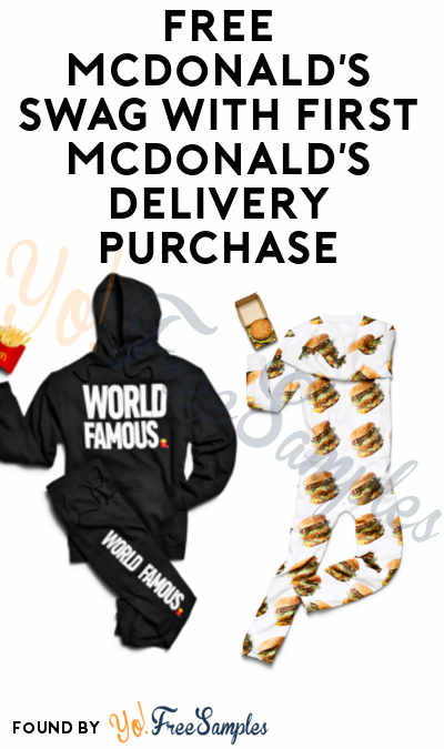 TODAY ONLY: FREE McDonald's Collection Swag With First McDonald's Delivery Purchase On 7/26 (Select Cities & UberEats Required)