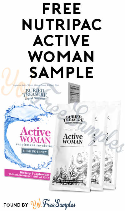 First 200: FREE Buried Treasure Active Woman, XyliSwish, Neuro Nectar & Aller Ease Sample