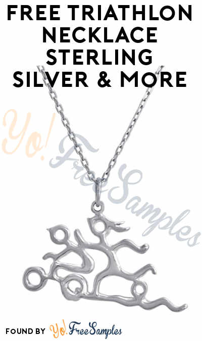 FREE Triathlon Necklace Sterling Silver & More In Exchange For Social Media Reviews From Tomoson (Sharing & Applying Required)