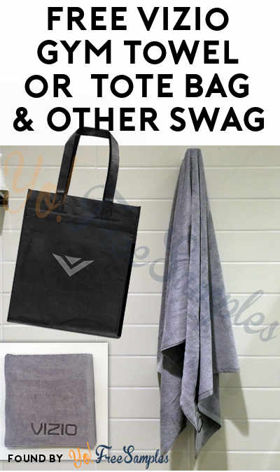 FREE Vizio Gym Towel or Limited Edition Tote Bag & Other Prizes For Joining Rewards Program [Verified Received By Mail]