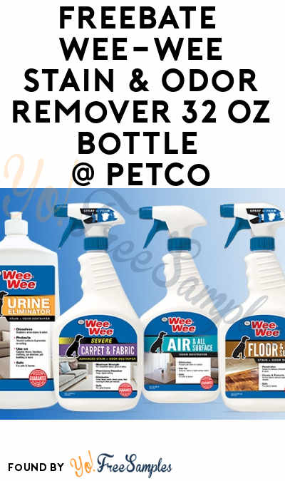 FREEBATE Wee-Wee Stain & Odor Remover 32 Oz Bottle At Petco