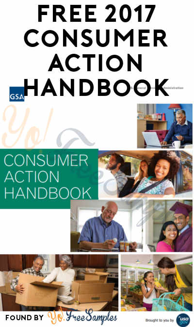 FREE 2017 Consumer Action Handbook [Verified Received By Mail]