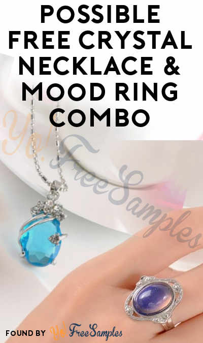 Possible FREE Crystal Necklace & Mood Ring Combo [Verified Received By Mail]