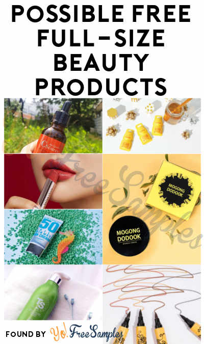 New Products: FREE Full-Size Beauty Products From 08liter.com (Account Creation Required) [Verified Received By Mail]