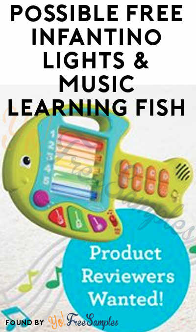 Possible FREE Infantino Lights & Music Learning Fish