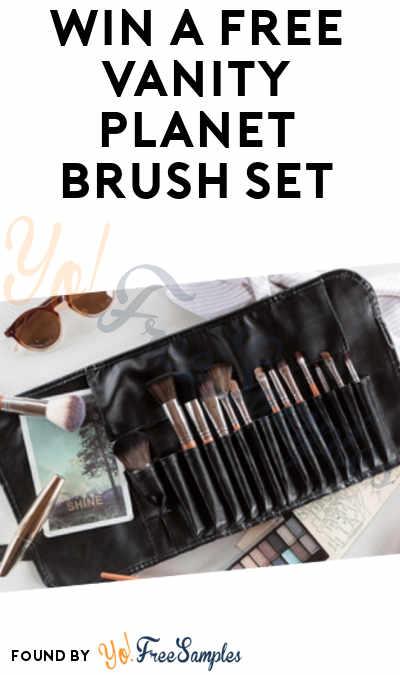 Win A FREE Vanity Planet Brush Set