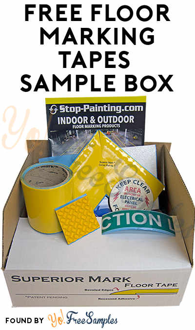 FREE Floor, Pavement, Tape & Signs Sample Box (Company Name Required)