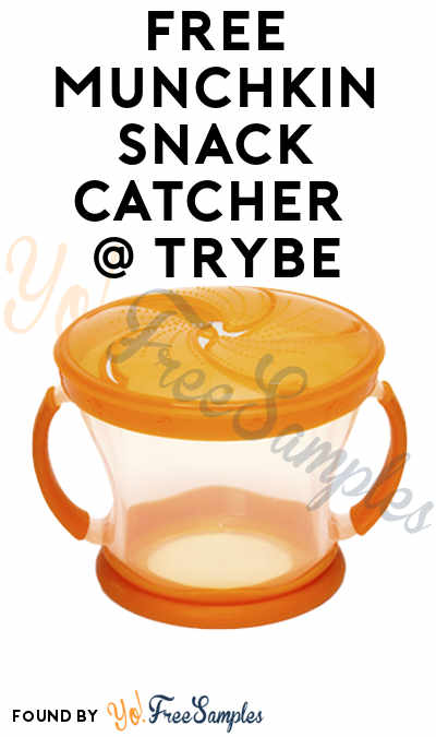 FREE Munchkin Snack Catcher At Trybe (Survey Required)