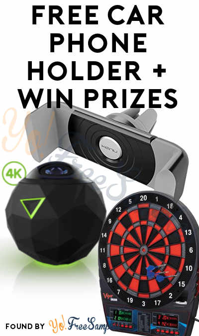 FREE Car Vent Phone Mount + Enter Weekly For Chance To Win 360 Fly Camera, Viper Electronic Dartboard, Seiko Watch, Mobile Smart Projector & Other Prizes From Marlboro's Route Less Traveled Sweepstakes