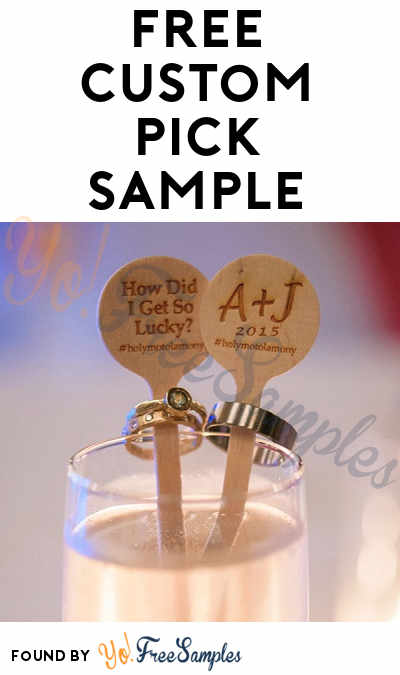 FREE Custom Pick Sample