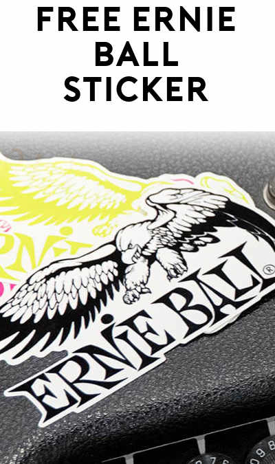 FREE Ernie Ball Stickers