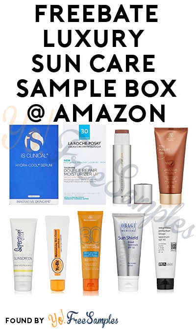 FREEBATE Luxury Sun Care Sample Box For Amazon Prime Members