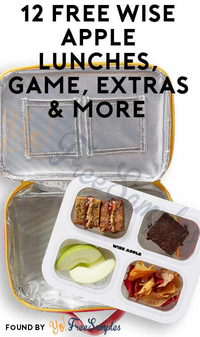 12 FREE Wise Apple Lunches, Game, Extras & More (Must Apply To Host Tryazon Party)