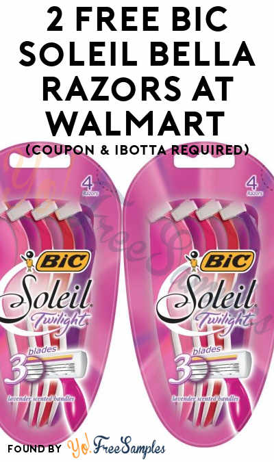2 FREE Bic Soleil Bella Razors At Walmart (Coupon & Ibotta Required)