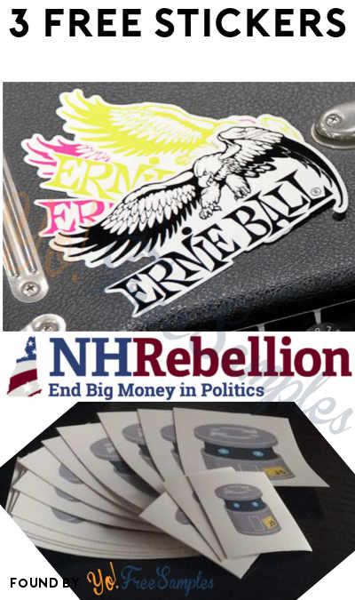 3 FREE Stickers Today: Ernie Ball Sticker, Ask the Question Bumper Sticker & JS Bin Sticker