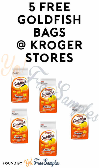 5 CHEAP Goldfish Bags At Kroger (Limited Time Window)