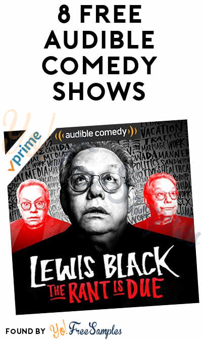 8 FREE Audible Comedy Shows