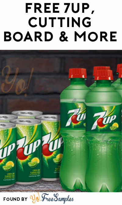 FREE 7UP, Cutting Board & More (Select States Only + Apply To HouseParty)