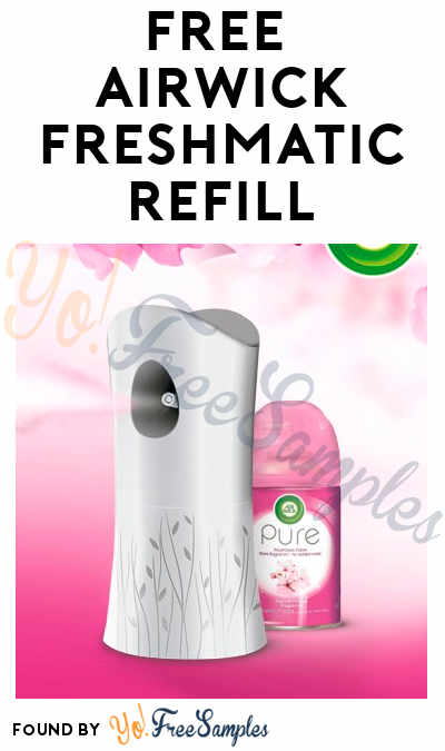 FREEBATE AirWick Freshmatic Refill