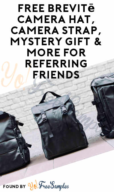 FREE Brevitē Camera Hat, Camera Strap, Mystery Gift & More For Referring Friends