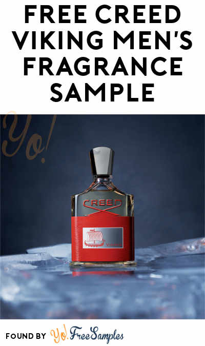 FREE Creed Viking Men's Fragrance Sample (Email Confirmation Required)