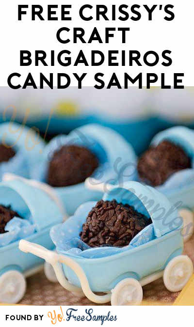 FREE Crissy's Craft Brazilian Brigadeiros Candy Sample (Facebook Required)