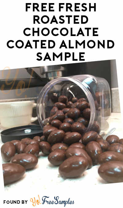 FREE Fresh Roasted Chocolate Coated Almond Sample
