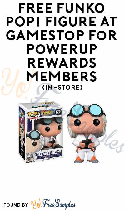 New Code: FREE Funko POP! Figure At GameStop For PowerUp Rewards Members (In-Store)