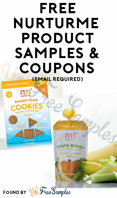 FREE NurturMe Healthy Kid & Toddler Product Samples & Coupons (Email Required)