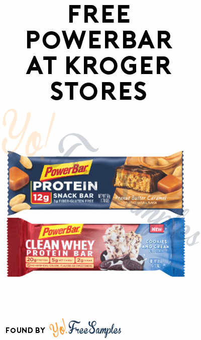 TODAY ONLY: FREE PowerBar At Kroger, Fry's, Ralphs, Dillons & Others